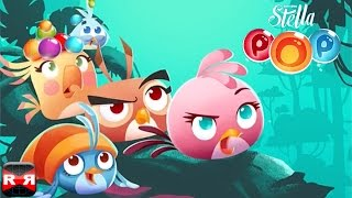 Angry Birds Stella POP! (By Rovio Entertainment) - iOS / Android - Gameplay Video