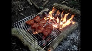 Camp Fire Cooking - For Two.