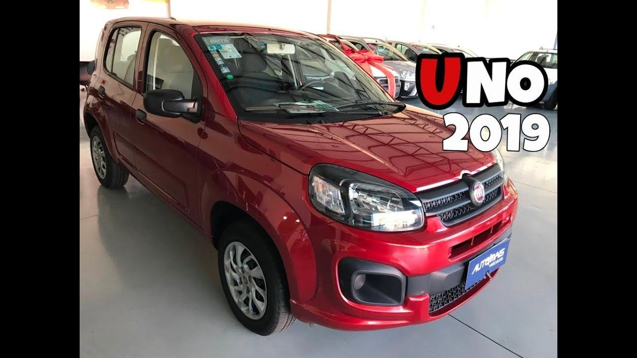 Novo Fiat Uno 2019