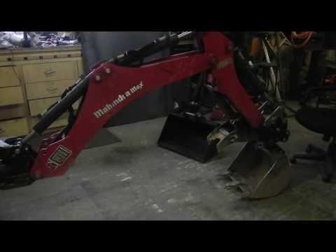 Homemade Backhoe Quick Coupler Youtube