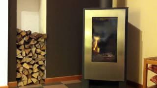 Nestor Martin - Stufa A Legna Woodbox - Design - Potenza -