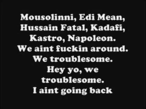 2pac - Troublesome 96  Lyrics