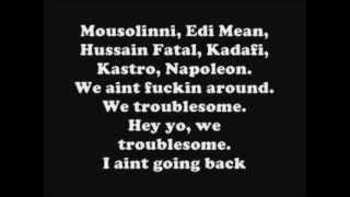 2pac - Troublesome 96  Lyrics