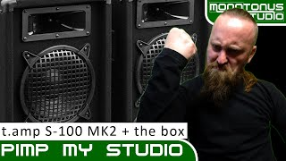 "Pimp My Studio:Tschüss ""Malone DX800""-Hallo ""the t.amp S-100 MK 2"" und ""the box PA110"" (CH-Deutsch)"