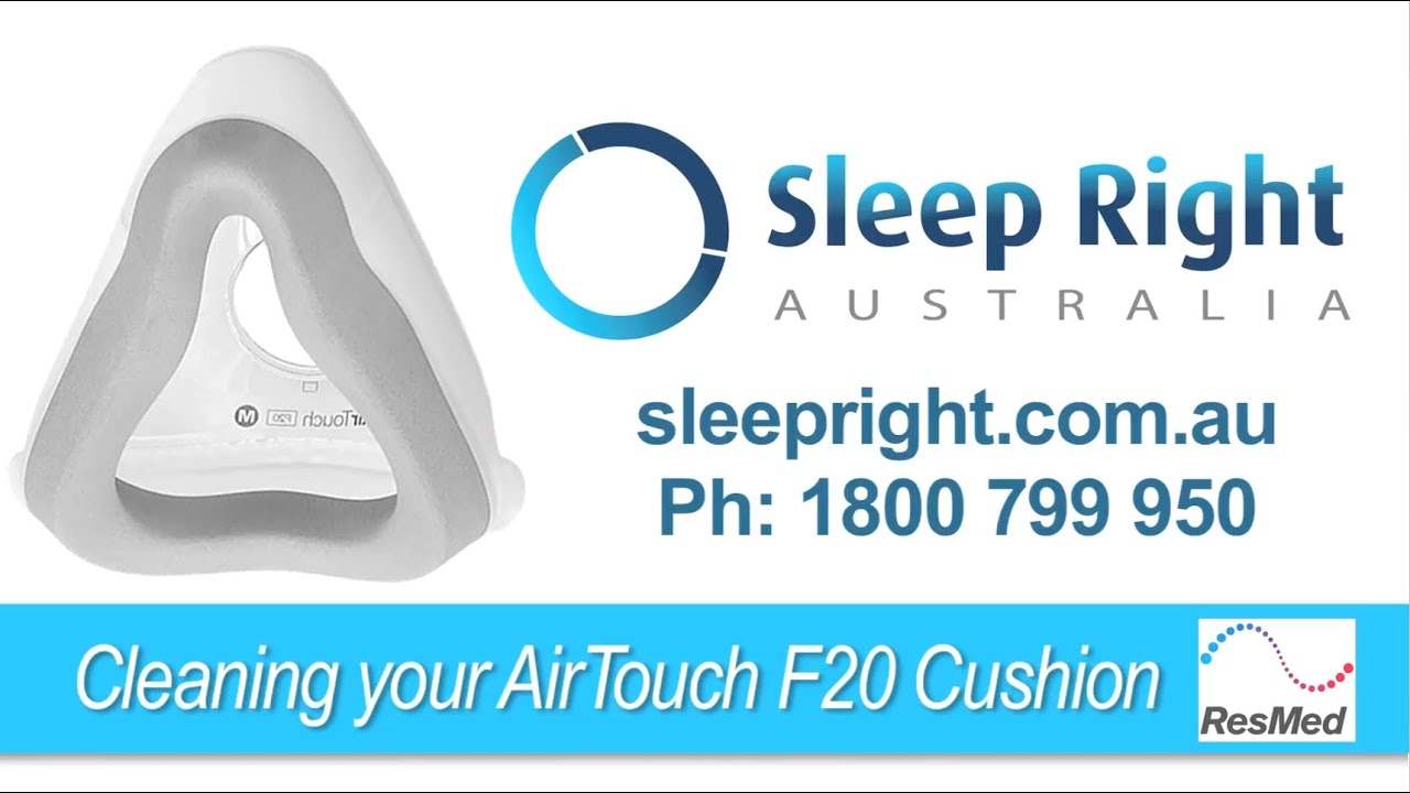 How To Replace Your Resmed Airtouch F20 Cushion