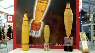 Mortar Bombs and Calibre Explosive at Defexpo 2014