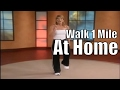 1 Mile In Home Walk! | Walking Workout Videos