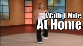 1 mile in home walk walking workout videos