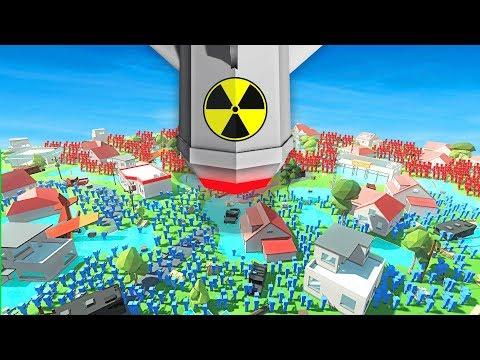 WORLD WAR 3 CITY vs NUKE ATTACK IN ANCIENT WARFARE 3 (Ancient Warfare 3 Funny Gameplay)