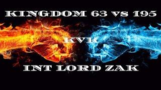 Clash of Kings: kvk 63 vs 195! INT Alliance Lord Zak [Monster kills] (2019)