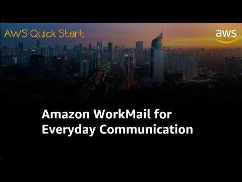 Amazon WorkMail Untuk Komunikasi Anda Sehari-hari