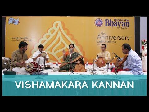 Aruna Sairam - Vishamakara Kannan (Bharatiya Vidya Bhavan 1st Anniversary Celebration 2012)