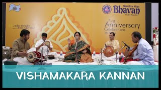 Vishamakara Kannan by Padmashri Awardee Sangita Kalanidhi Smt Aruna Sairam at Bharatiya Vidya Bhavan