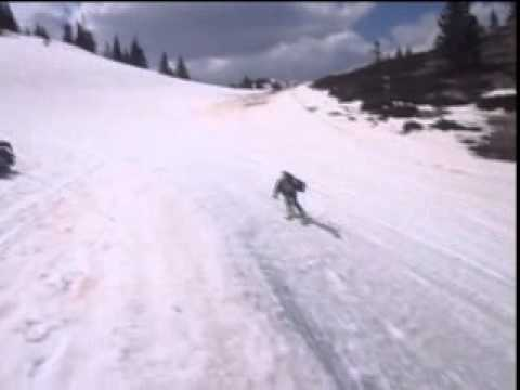Jahorina, freestyle skiing in April