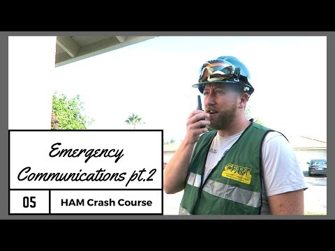 Emergency Communications Part 2   After The Disaster