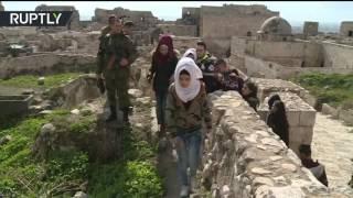 قلعة حلب تفتح أبوابها للزوار من جديد