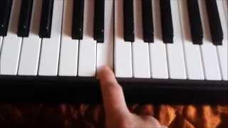 Как научится на синтезаторе.Седая ночь.