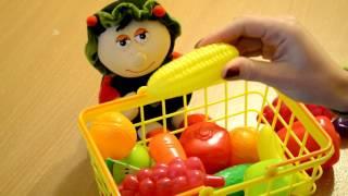 Веселый английский для детей  Развивающее видео  Учим фрукты и овощи на английском  Уроки английског