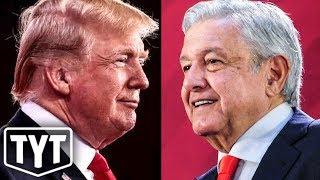 Trump Teams Up With Mexico