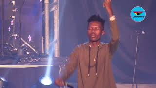 Strongman performs at Rapperholic 2018