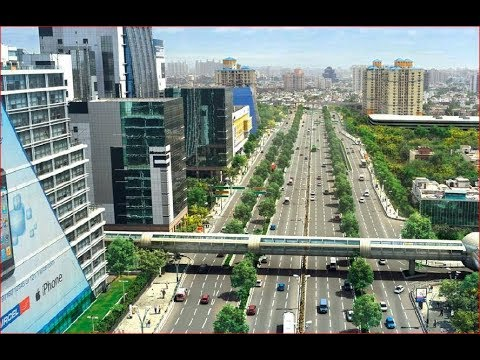 A Visual Tour | Cyber City Gurgaon (Gurugram) | Haryana