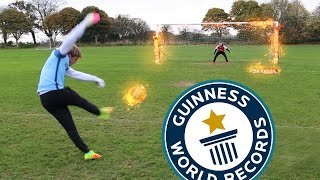 *NEW* WORLD RECORD!! FOOTBALL CHALLENGES thumbnail