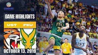UST vs. FEU - October 13, 2019 | Game Highlights | UAAP 82 MB