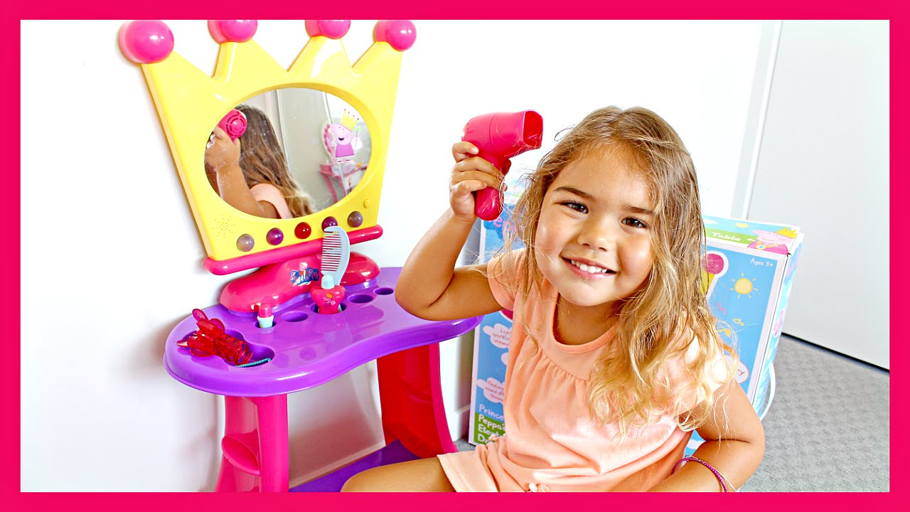 Princess Peppa S Electronic Dressing Table Youtube