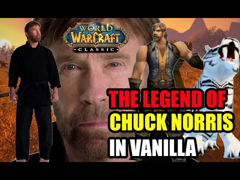 The Chuck Norris Meme From Vanilla WoW!
