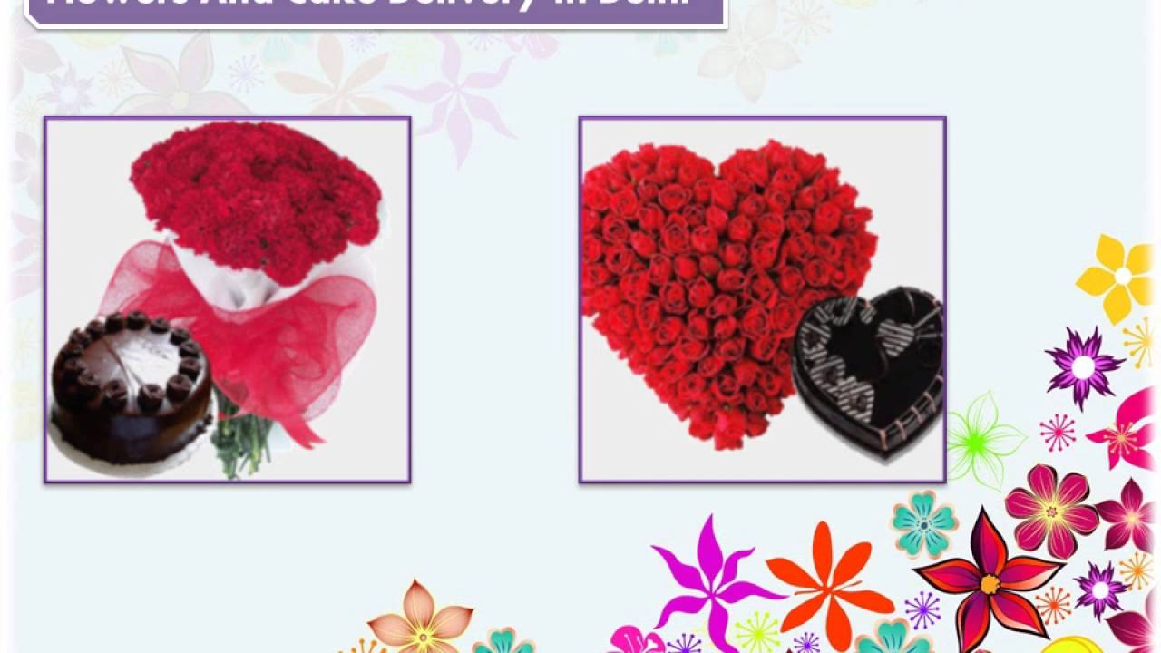 Cake and flowers delivery in delhi youtube cake and flowers delivery in delhi izmirmasajfo