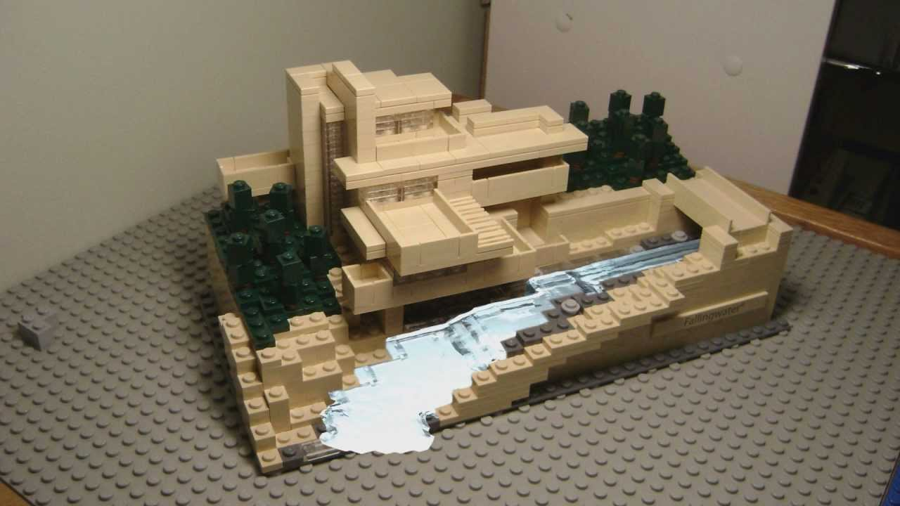 Lego fallingwater alive youtube - Lego falling waters ...