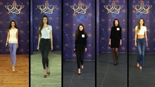 Мисс Беларусь-2018   Финалистки   Первая пятёрка