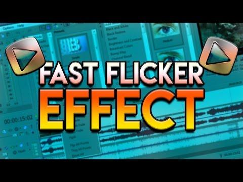 How To: Fast Flicker Effect in Sony Vegas Pro