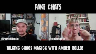 Comedians Talking Chaos Magick   Fake Chats   Amber Rollo