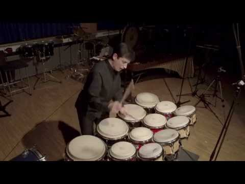 Thirteen drums by Maki Ishii performed by Antonio Ruiz Giménez