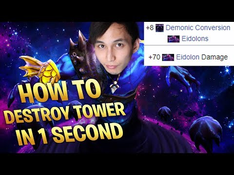 HOW TO DESTROY TIER 3 TOWER IN 1 SECOND (SingSing Dota 2 Highlights #1328) thumbnail