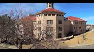 aerial video of new mexico state university
