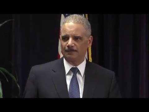 Holder: State Laws That Ban Felons From Voting Deserve To Be Not Only Reconsidered But Repealed