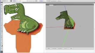 Repeat youtube video Amazing T-Rex Illusion! How it works.