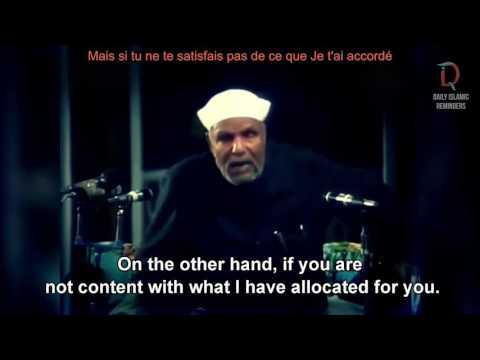 Ô fils d'Adam | Aime-Moi | Hadith Qudsi | Subsistance | Sh Muhammad Metwally El Shaarawy