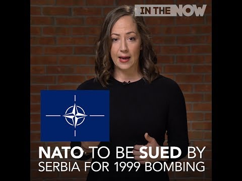 NATO is about to get sued by Serbia for using depleted uranium In Yugoslavia