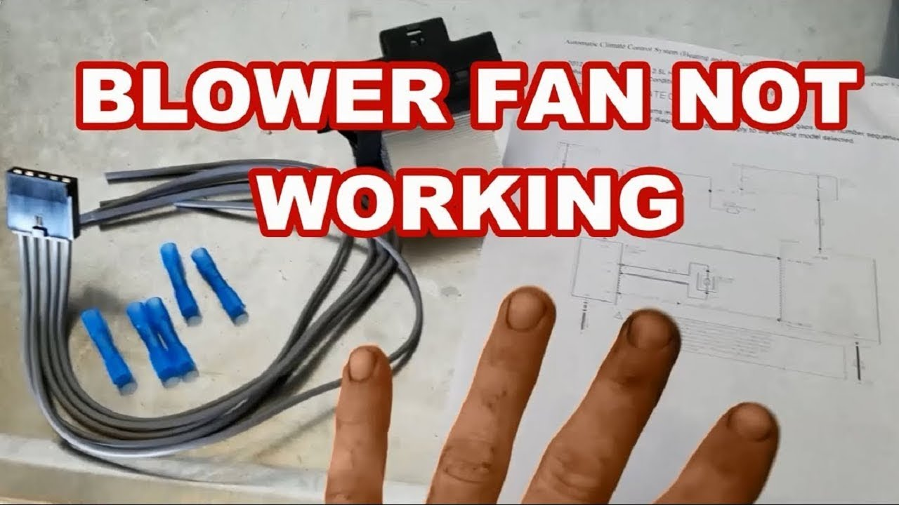 06 12 ford fusion blower doesn t work easy fix fan resistor pigtail [ 1280 x 720 Pixel ]