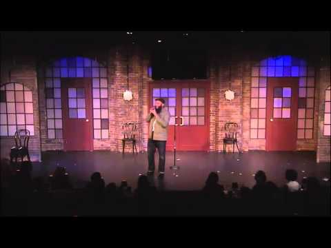Comedian Azhar Usman @ The NBCUniversal Second City Break Out Comedy Festival on Sat 06June2015