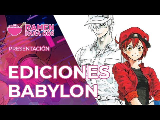 PRESENTACIÓN EDITORIAL DE EDICIONES BABYLON | MANGA BCN Limited Edition