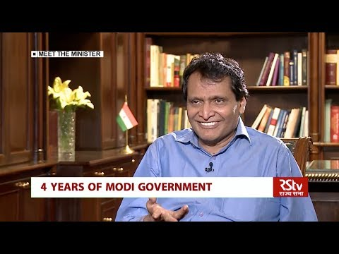 4 Years of Modi Govt (Meet the Minister, Suresh Prabhu)