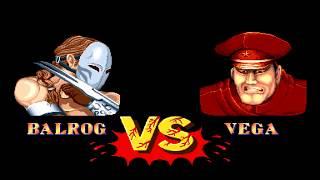 Street Fighter 2 ++ - Vega (Claw)【TAS】