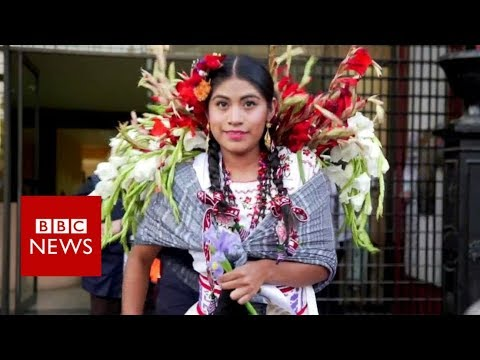 Mexico's mixed-race beauty contest - BBC News