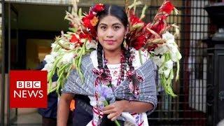 Mexico's mixed-race beauty contest - BBC News
