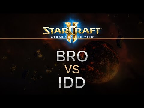 SC2 -- LOTV -- bro (P) v idd (T) on Cactus Valley LE