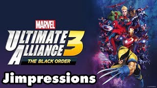 Marvel Ultimate Alliance 3: The Black Order - Inadequate Alliance (Jimpressions) (Video Game Video Review)